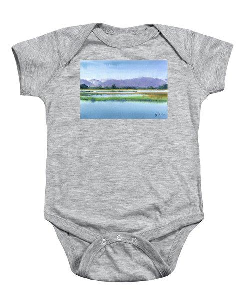 Goose Island Marsh Baby Onesie