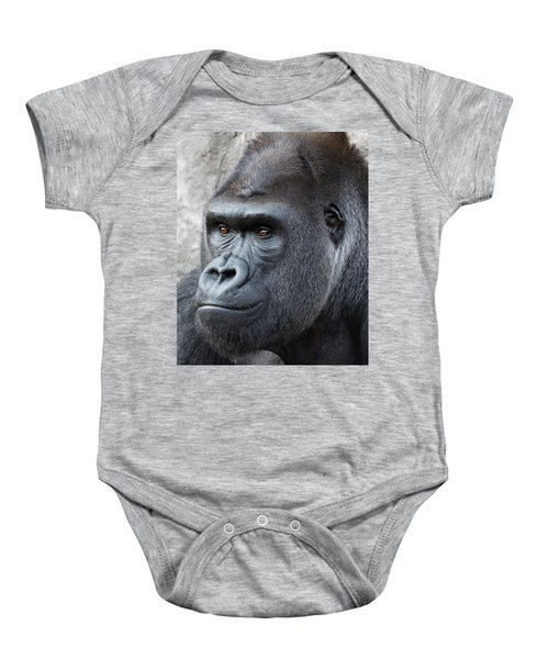 Gorillas In The Mist Baby Onesie