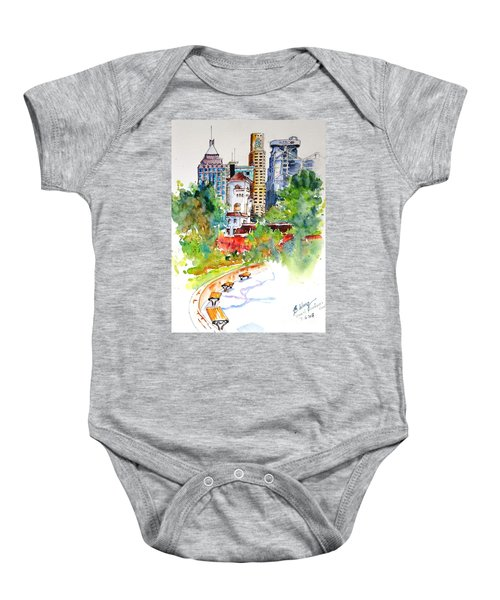 Governor's House, Hong Kong Baby Onesie
