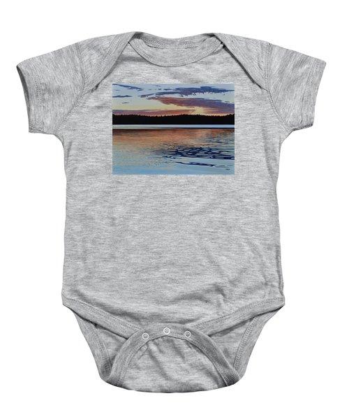 Graham Lake Baby Onesie