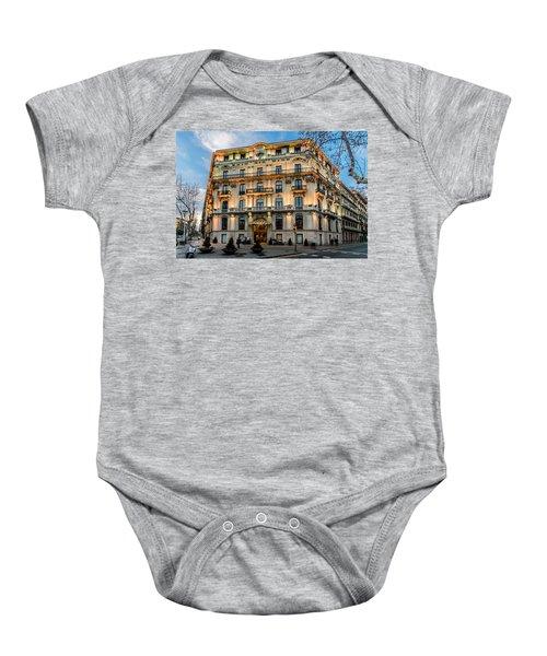 Gran Hotel Havana Baby Onesie by Randy Scherkenbach