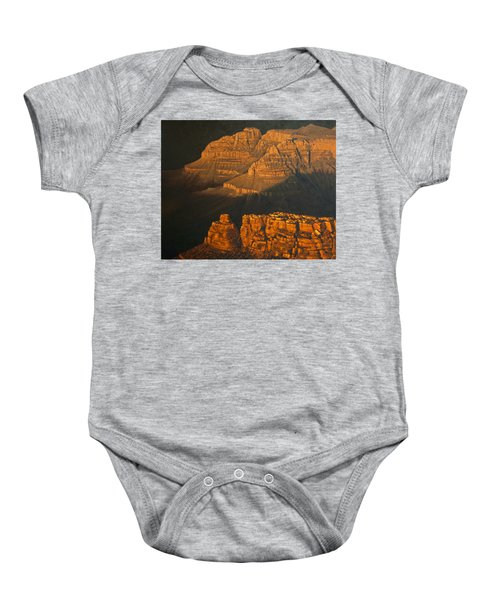 Grand Canyon Meditation Baby Onesie by Jim Thomas