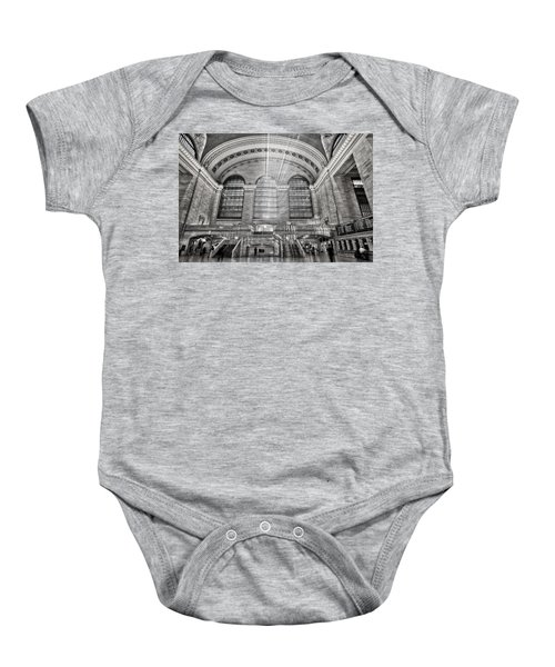 Grand Central Terminal Station Baby Onesie