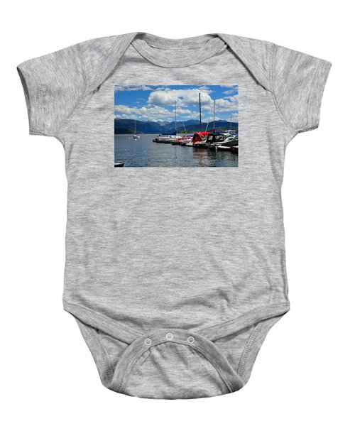 Grand Lake And Indian Peaks Wilderness Baby Onesie