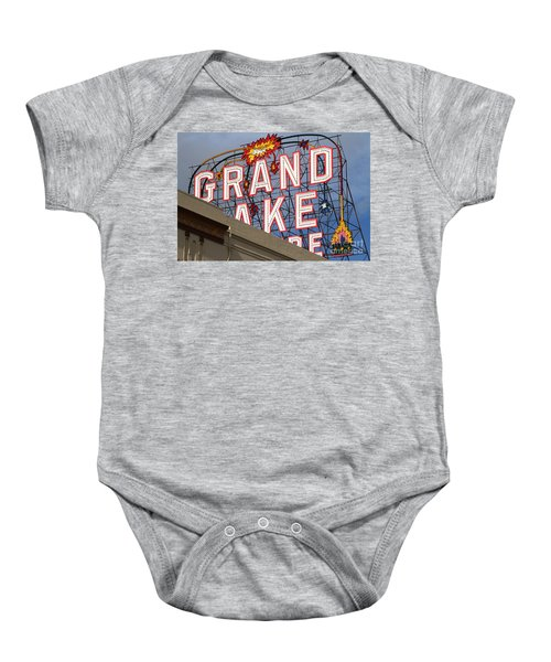 Grand Lake Theatre . Oakland California . 7d13495 Baby Onesie