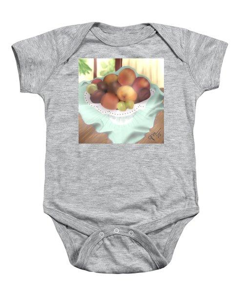 Grandma's Table Baby Onesie