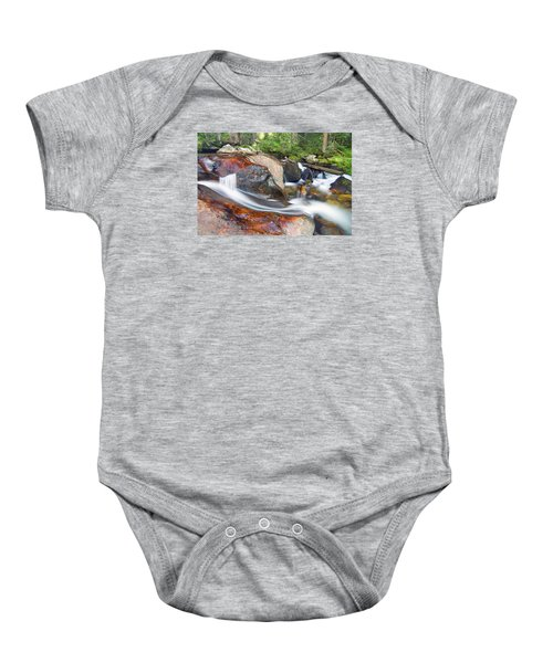 Baby Onesie featuring the photograph Granite Falls by Gary Lengyel