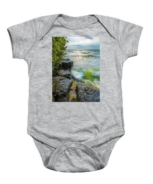 Great Lakes Baby Onesie