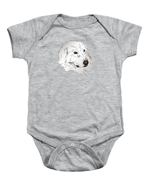 Great Pyrenees Dog Baby Onesie