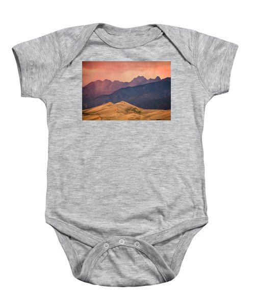 Great Sand Dunes Colorado Baby Onesie