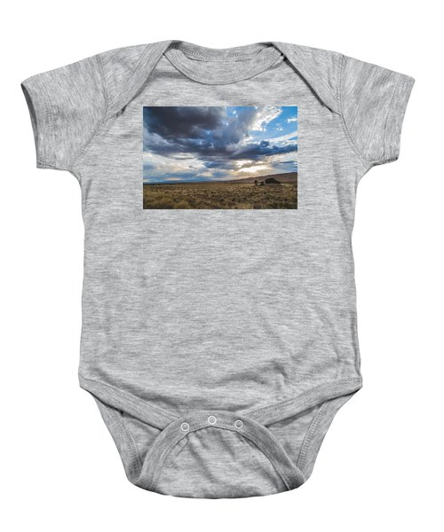 Great Sand Dunes Stormbreak Baby Onesie