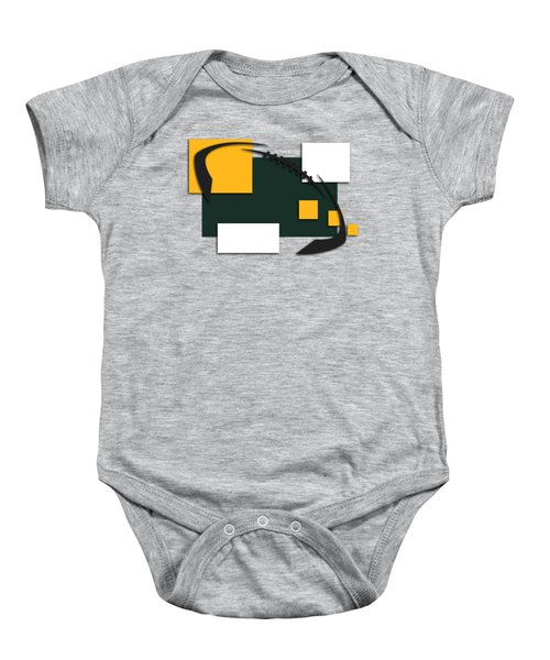 Green Bay Packers Abstract Shirt Baby Onesie