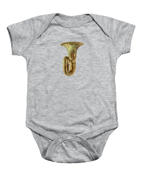 Green Horn Up Baby Onesie by YoPedro