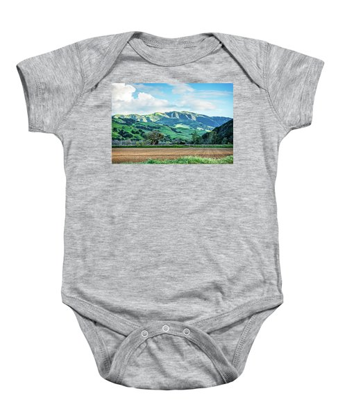 Green Mountains Baby Onesie