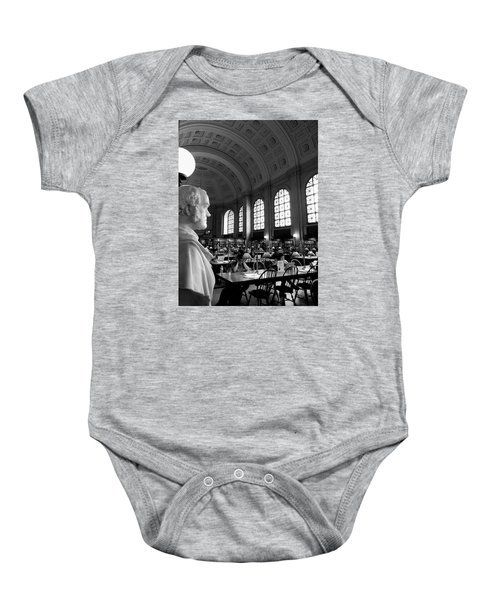Guarding The Knowledge Baby Onesie