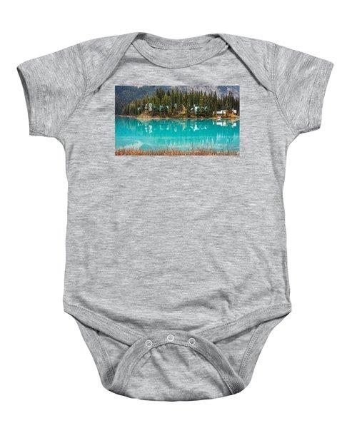 Emerald Lake Baby Onesie