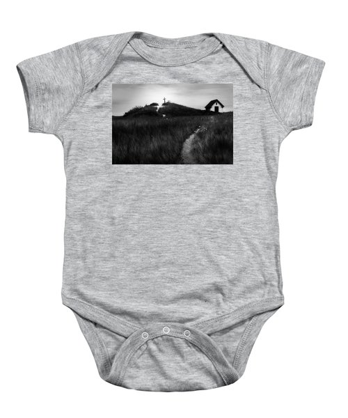 Baby Onesie featuring the photograph Guiding Light by Bill Wakeley