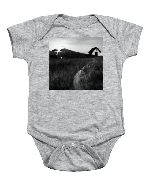 Baby Onesie featuring the photograph Guiding Light Square by Bill Wakeley