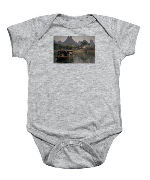 Guilin Limestone Peaks Baby Onesie by Travel Pics