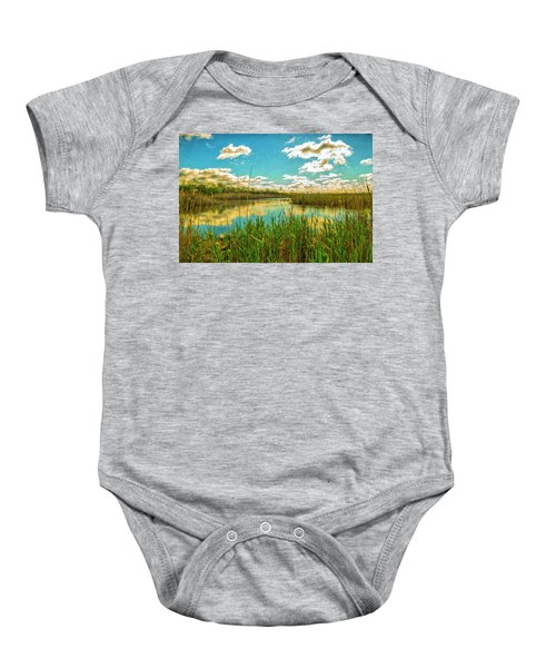 Gunnel Oval By Paint Baby Onesie