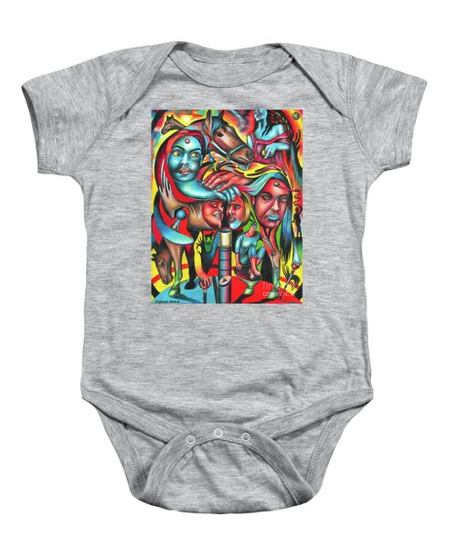 Gyrating Vigor Of Carnal Sustenance Baby Onesie