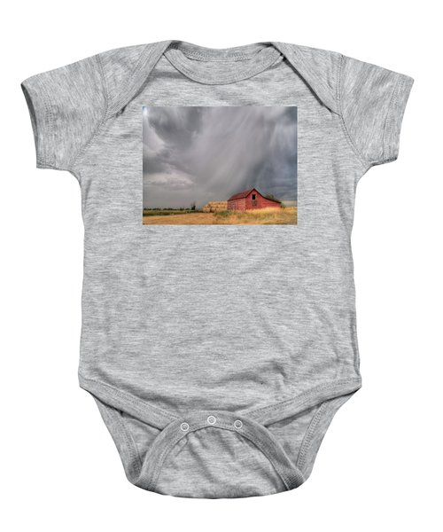 Hail Shaft And Montana Barn Baby Onesie