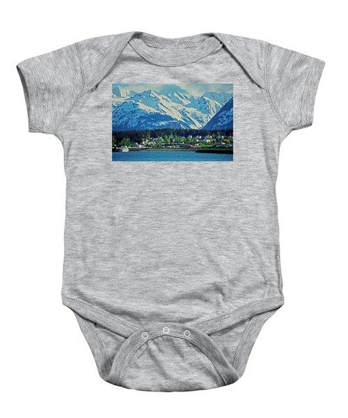 Haines - Alaska Baby Onesie