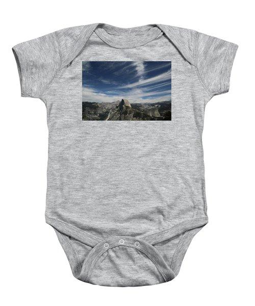 Half Dome Sky Baby Onesie