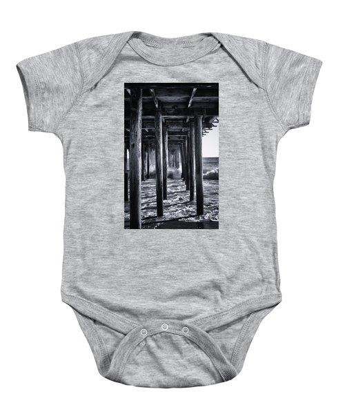 Hall Of Mirrors Baby Onesie