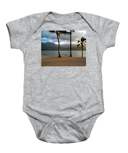 Hammock At Hanalei Bay Baby Onesie