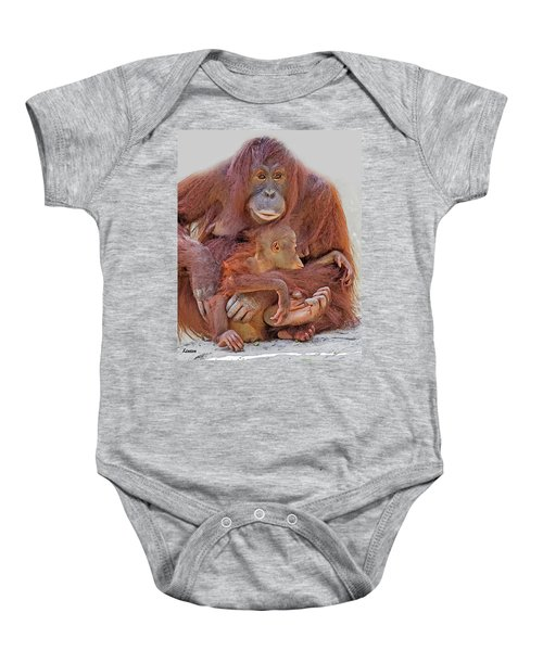 Hands And Feet Baby Onesie