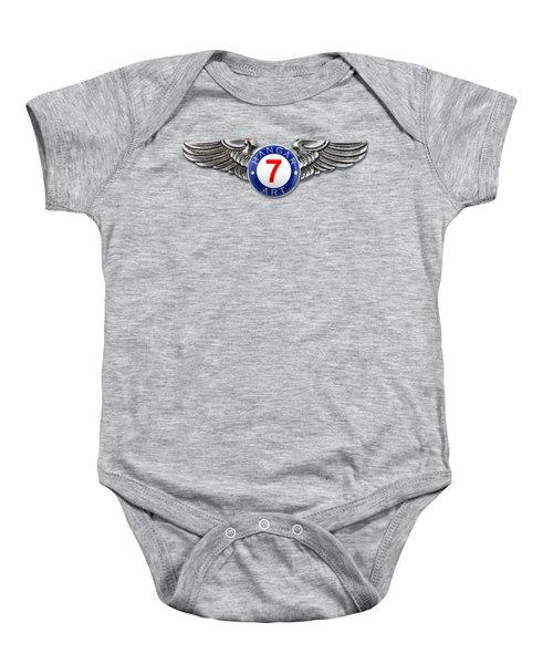 Hangar 7 Art Logo Baby Onesie