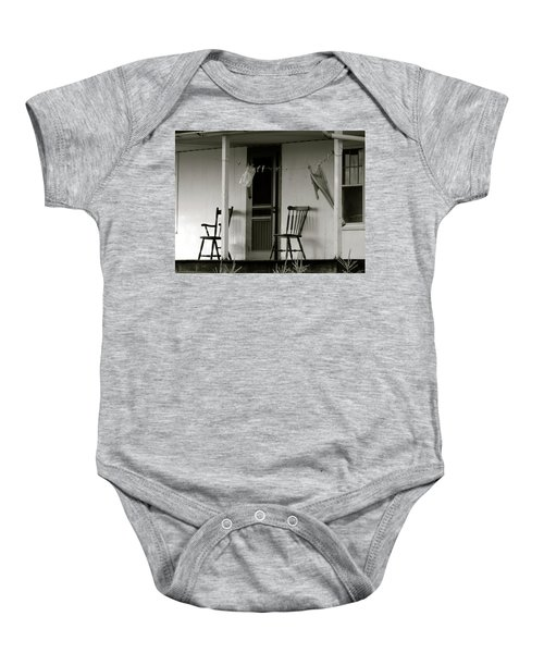Hanging Out On The Porch Baby Onesie