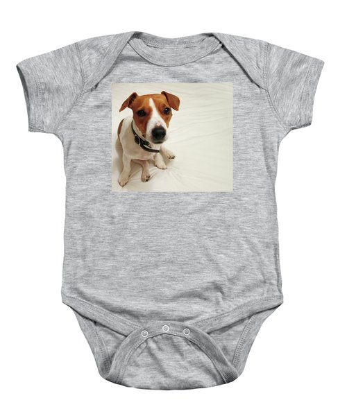Happiness Is A Cute Puppy Baby Onesie