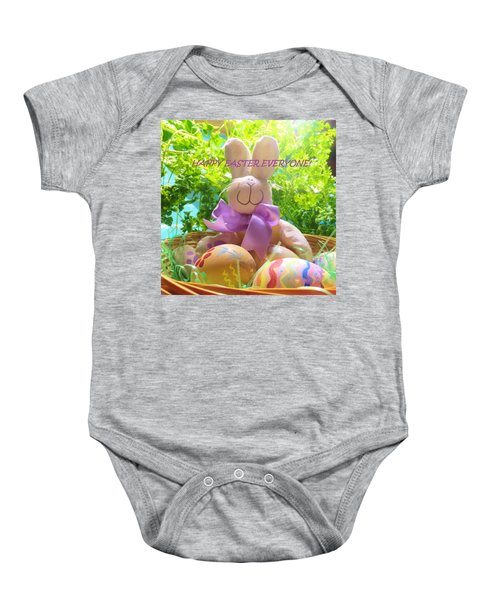 Happy Easter Everyone Baby Onesie