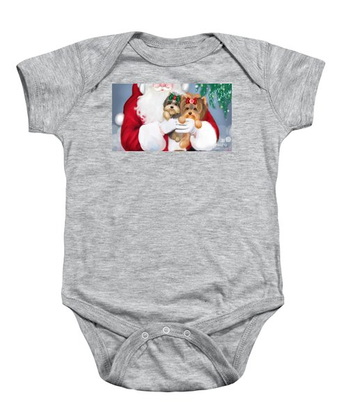 Happy Holidays Baby Onesie
