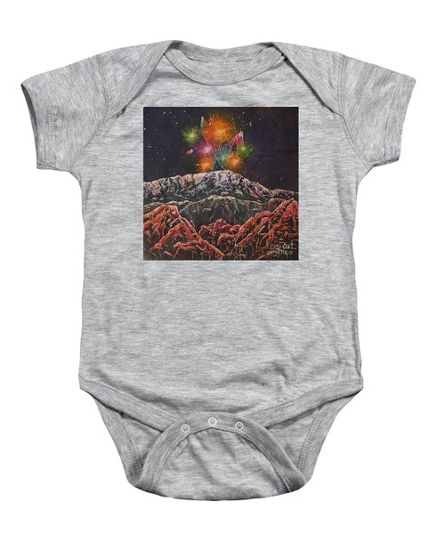 Happy New Year From America's Mountain Baby Onesie