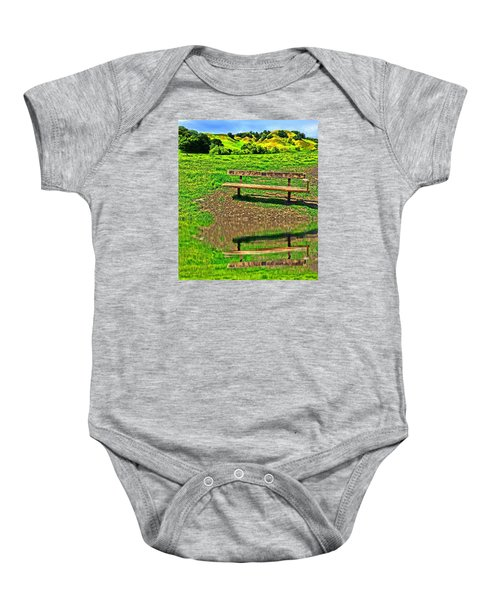 Happy Place Baby Onesie