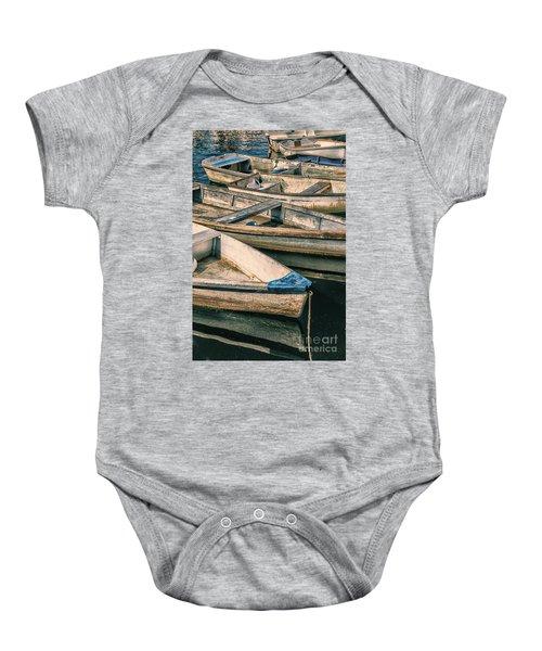 Harbor Boats Baby Onesie