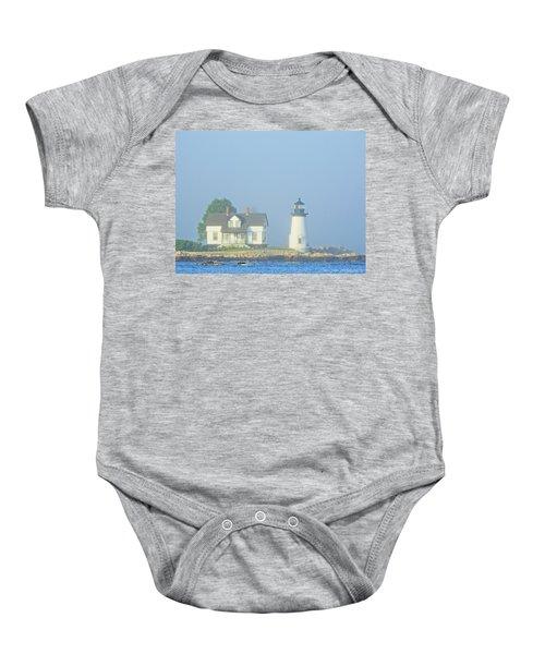 Harbor Mist Baby Onesie