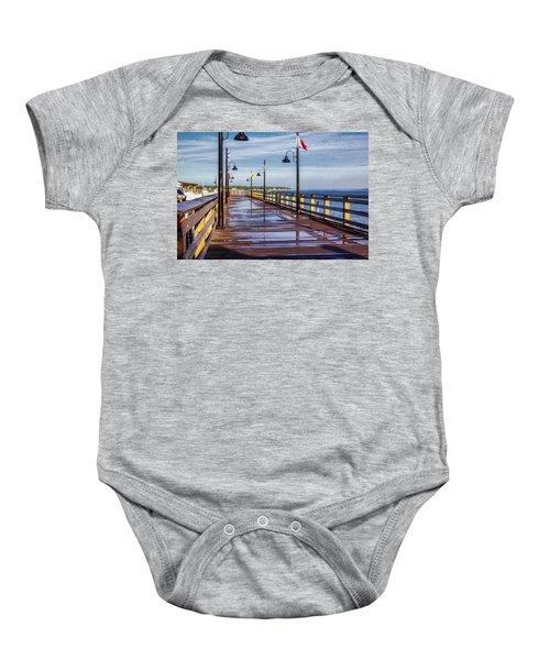Harbour Town Pier Baby Onesie