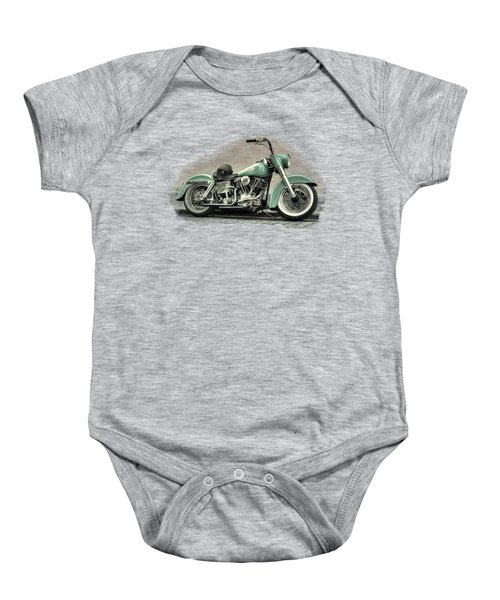Harley Davidson Classic  Baby Onesie