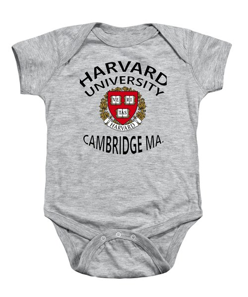 Harvard University Cambridge M A  Baby Onesie by Movie Poster Prints