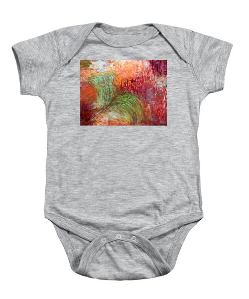 Harvest Abstract Baby Onesie