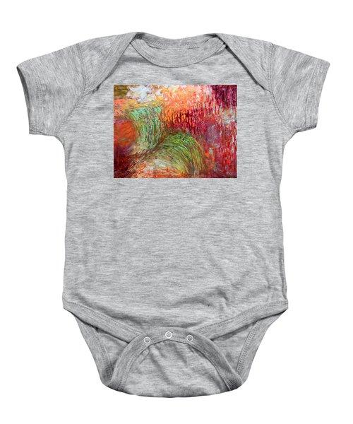 Harvest Abstract Baby Onesie