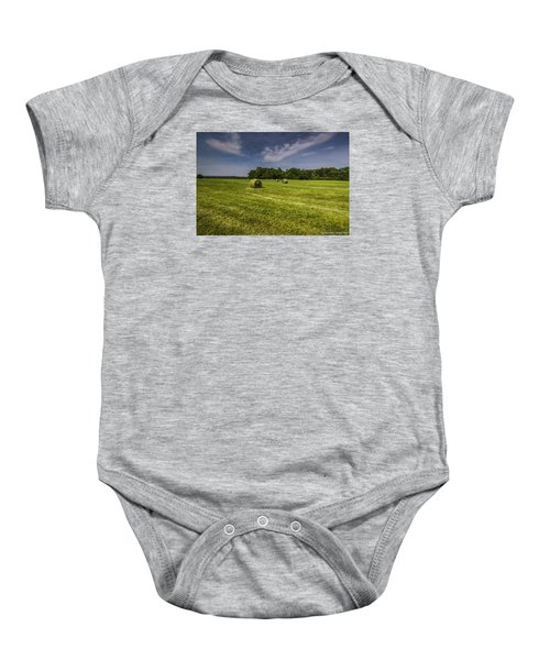 Harvested Baby Onesie