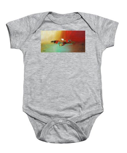 Hashtag Happy - Abstract Art Baby Onesie