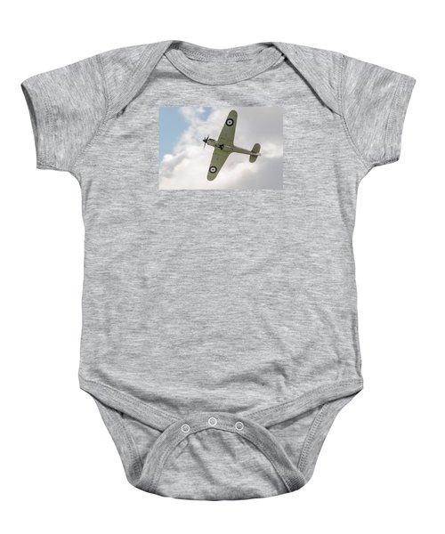 Hawker Hurricane Mk I Baby Onesie by Gary Eason