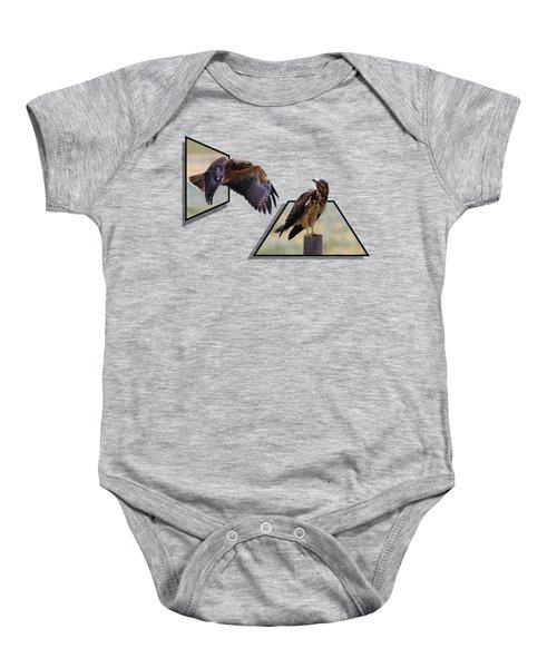 Hawks Baby Onesie by Shane Bechler
