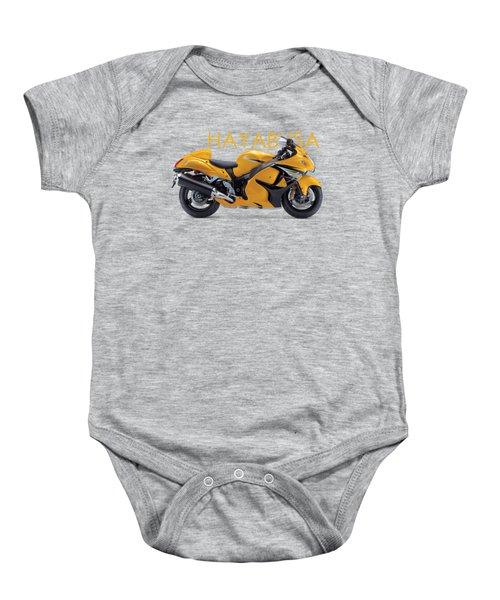 Hayabusa In Yellow Baby Onesie